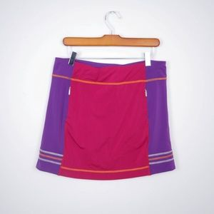 Title Nine Skirt Colorblock Athletic Stretch